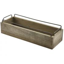 Industrial Wooden Crate 34 x 12 x 9cm