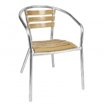 Bolero Aluminium and Ash Chairs