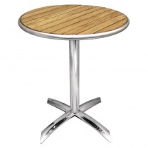 Flip-Top Round Table Ash 720 x 600mm