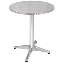 Stainless Steel Round Bistro Table 600mm
