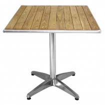 Bolero Square Table Top Ash 600mm
