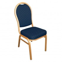 Bolero Arched Back Banquet Chairs Blue