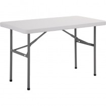 Foldaway Rectangular Utility Table 4ft
