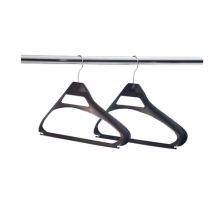 Black Polypropylene Hangers