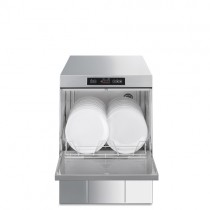 Smeg Ecoline Professional Undercounter Dishwasher,500mm Basket, With Integral Water Softener