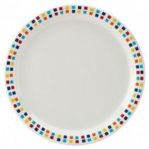 Carlisle Kingline Melamine Plates Spanish Tile 23cm