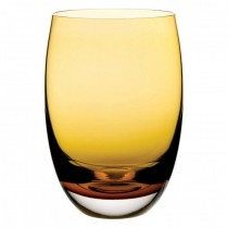 Nude Amber O Tumbler Glass 14oz (40cl)