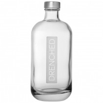 Glass Drench Lidded Bottle 0.5L