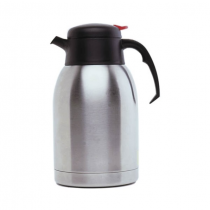Vacuum Push Button Jug Stainless Steel 1.2L