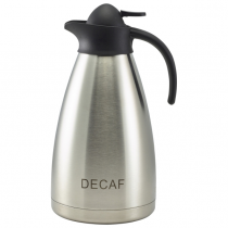 Decaf Inscribed Contemporary Vacuum Jug 2.0L