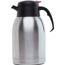 Vacuum Push Button Jug Stainless Steel 2.0L