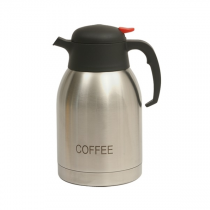 Coffee Inscribed Vacuum Jug Stainless Steel 2.0L
