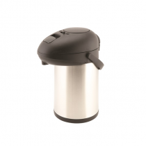Unbreakable Vacuum Pump Pot Stainless Steel 3.0L