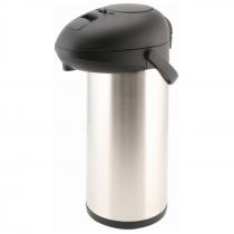 Unbreakable Vacuum Pump Pot Stainless Steel 5.0L