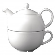 Churchill Whiteware One Cup Tea Pot
