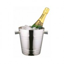 Stainless Steel Contemporary Wine Cooler
