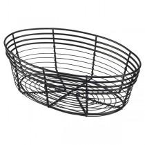 Genware Wire Basket Oval 25.5 x 16 x 8cm