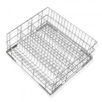Wire basket with angled bottom for stem glasses Ø max 90mm