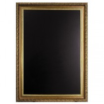 Wall Chalk Board Gold Frame