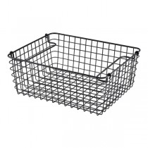 Black Wire Display Basket GN 1/2