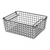 Black Wire Display Basket GN 1/2