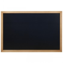 Wall Chalk Board Teak Frame