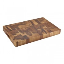 Acacia Wood Chopping Board 45.5 x 30.5 x 45cm