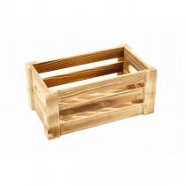 Wooden Crate Rustic Finish 27 x 16 x 12cm