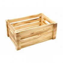 Wooden Crate Rustic Finish 34 x 23 x 15cm