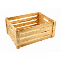 Wooden Crate Rustic Finish 41 x 30 x 18cm