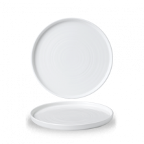 Churchill Chefs' Walled Plate White 21cm
