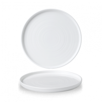 Churchill Chefs' Walled Plate White 26cm