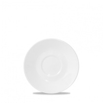 Churchill White Latte Small Cafe Saucer 14.2cm