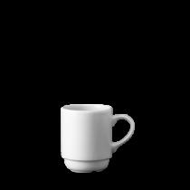 Churchill Snack Attack Stacking Mug White 28cl