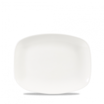 Churchill X Squared Oblong Plate White 26.1 x 20.2cm