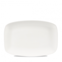Churchill X Squared Oblong Plate White 30 x 19.9cm