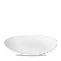 Churchill Orbit Oval Coupe Plate 31.7 x 25.5cm