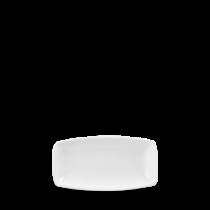 Churchill X Squared Oblong Plate White 19.5 x 10.3cm