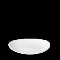 Churchill Orbit Oval Coupe Plate 23.8 x 20cm