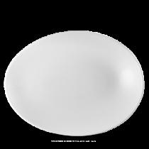 Churchill Profile Oval Plate 34.6 x 26.3 x 5cm