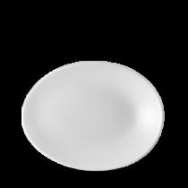 Churchill Profile Oval Plate 19.5 x 15 x 2.5cm