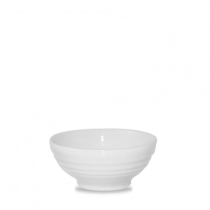 Churchill Bit on the Side Ripple Snack Bowls White 12 x 5.7cm