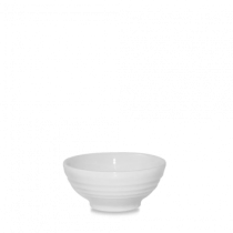 Churchill Bit on the Side Ripple Snack Bowls White 10.4 x 4.9cm