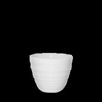 Churchill Bit on the Side Ripple Chip Mug White 9.5 x 8.3cm
