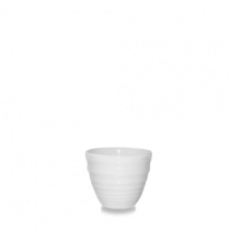 Churchill Bit on the Side Ripple Dip Pot White 5.9 x 5cm