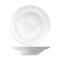 Churchill Equation Round Pasta Plates 26.1cm