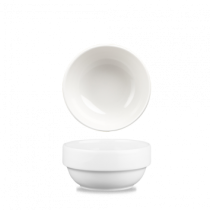 Churchill White Profile Stacking Bowl 37.7cl