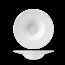 Churchill White Profile Wide Rim Bowl 21.6cm