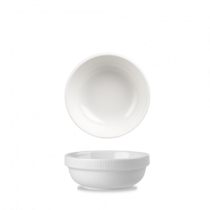 Churchill Bamboo Stacking Bowl White 28cl