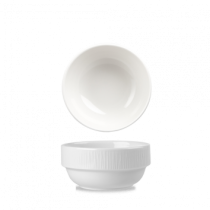 Churchill Bamboo Stacking Bowl White 37.7cl